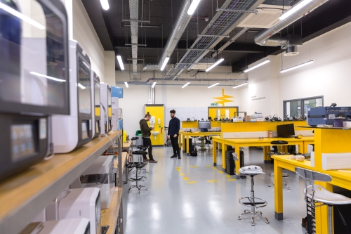 The electronics and digital manufacturing workshop at Hackspace